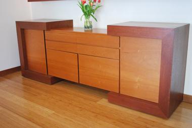 Interiorismo casa vitacura mueble buffet for Buffet mueble
